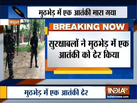 One terrorist killed in encounter in Jammu & Kashmir's Awantipora