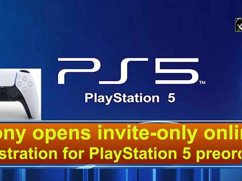 Sony opens invite-only online registration for PlayStation 5 preorders