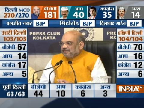 Kejriwal got elected and AAP Govt had come to power only through EVMs in 2015: Amit Shah