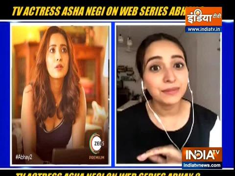 TV actress Asha Negi on her OTT release Abhay 2