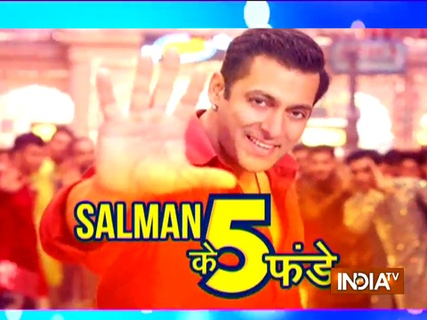 Salman Khan's 5 successful mantras for blockbuster movies