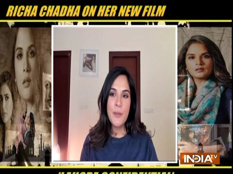 Actors Richa Chadha and Kunal Kohli on their film Lahore Confidential