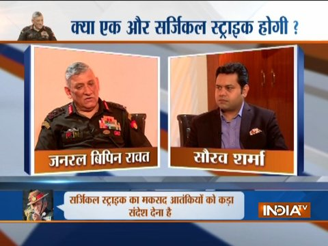 Exclusive   India will conduct surgical strikes again if Pak doesn't stop sheltering terrorists, says Bipin Rawat