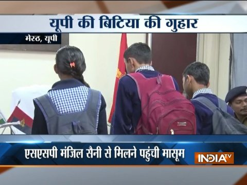 Meerut: School girl seeks SSP help to curb eve-teasing