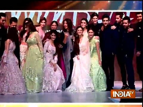 Helly Shah, Kanchi Singh, Bandgi Kalra walk the ramp in style