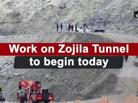 Work on Zojila Tunnel to begin today