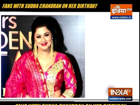 Look how fans surprised Sudha Chandran on her birthday