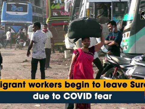 Migrant workers begin to leave Surat due to COVID fear