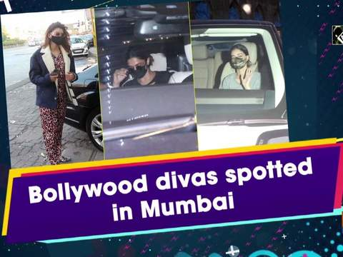 Bollywood divas spotted in Mumbai