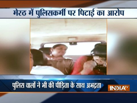 UP Police constable assaults girl for relationship with Muslim man, 3 cops suspended