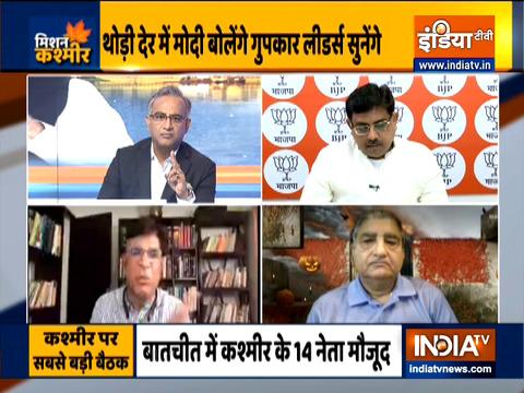 मुकाबला: पीएम मोदी ने की जम्मू-कश्मीर के नेताओं से मुलाकात, पार्टी के नेता अपनी मांगों पर अड़े