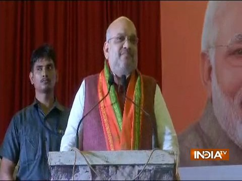 Congress has defamed the country by using terms saffron terror and Hindu terror: Amit Shah
