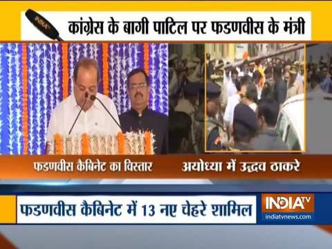 महाराष्ट्र मंत्रिमंडल विस्तार: राधाकृष्ण विखे पाटिल, आशीष शेलार ने मंत्री पद की शपथ ली