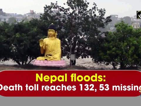 Nepal floods: Death toll reaches 132, 53 missing