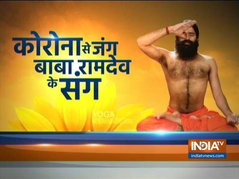 These yogasanas by Swami Ramdev will relieve the problem of migraine in a few days