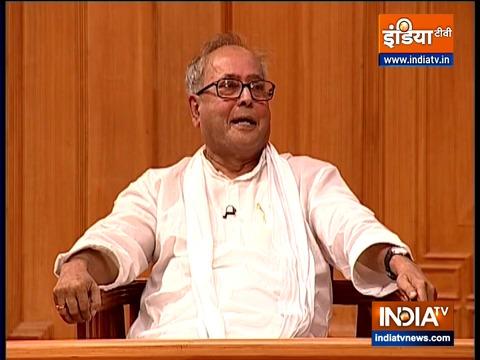 Former President Pranab Mukherjee in Aap Ki Adalat (Full Episode)