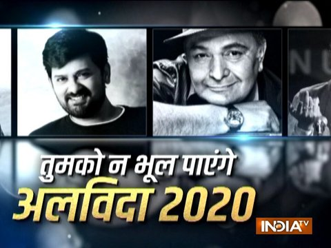 Sushant Singh Rajput, Rishi Kapoor, Irrfan Khan; Bollywood celebs who bid goodbye to the world in 2020