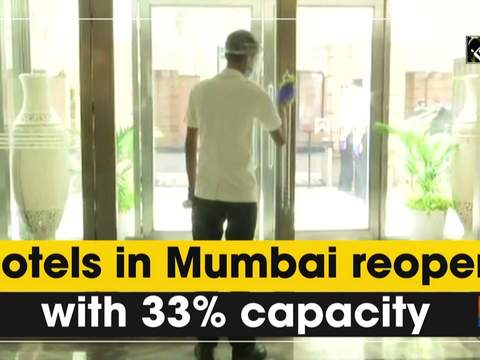 Hotels in Mumbai reopen with 33% capacity