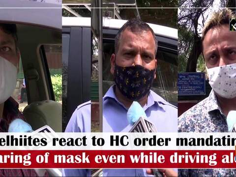 Delhiites react to HC order mandating wearing of mask even while driving alone
