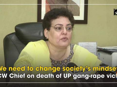 We need to change society's mindset: NCW Chief on death of UP gang-rape victim