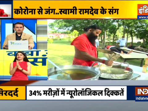 Know from Swami Ramdev home remedies to get rid of headache