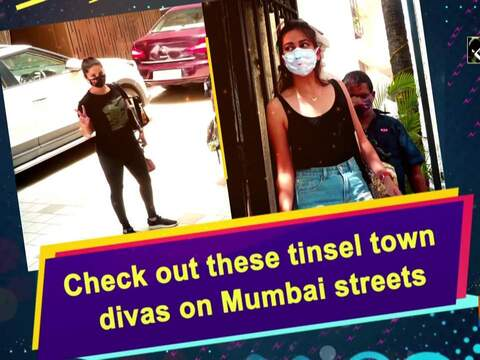 Check out these tinsel town divas on Mumbai streets