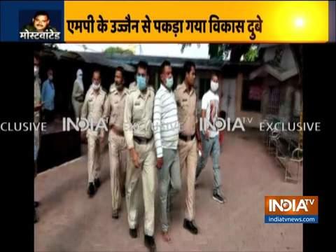कानपुर एनकाउंटर मामले का मुख्य आरोपी विकास दुबे उज्जैन में गिरफ्तार