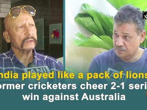 India played like a pack of lions: Former cricketers on 2-1 series win against Australia