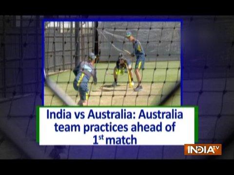 India vs Australia: Australia team practices ahead of 1st Test