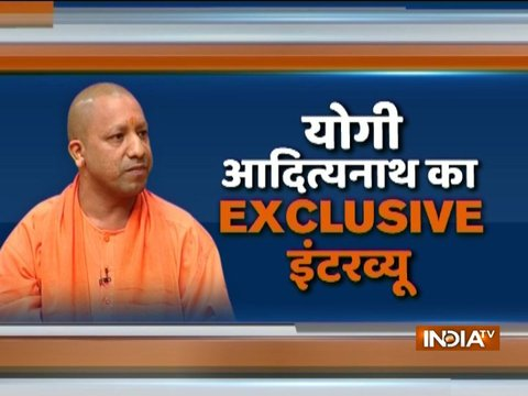 UP CM Yogi Adityanath talks about development, crime and other issues in the state