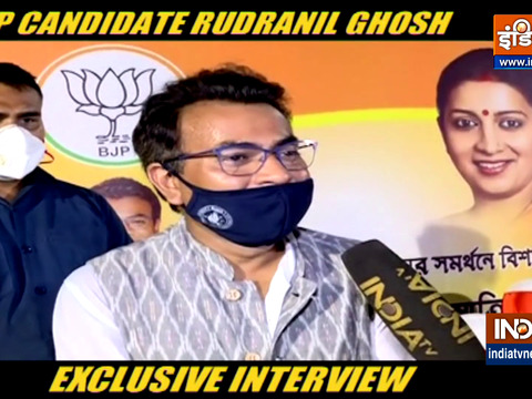 Mamata ran away from here, says BJP's Bhowanipore candidate Rudranil Ghosh