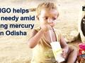 NGO helps the needy amid rising mercury in Odisha