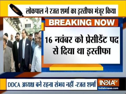 लोकपाल ने रजत शर्मा को डीडीसीए अध्यक्ष पद छोड़ने की दी अनुमति