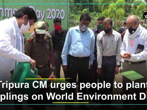 Tripura CM urges people to plant saplings on World Environment Day