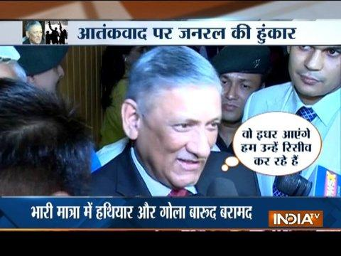 Will conduct surgical strikes again if Pakistan doesn't mend its ways,says Army Chief Bipin Rawat