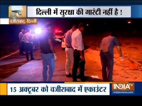 Three criminals arrested after three encounters in Delhi