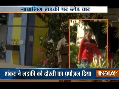 Jilted lover attacks minor girl with a knife in Mumbai, arrested