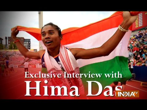 It's a proud moment for me to be nominated for the Arjuna award: Hima Das