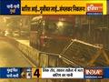 Maharashtra: Heavy rains lash Mumbai, train services suspended due to waterlogging