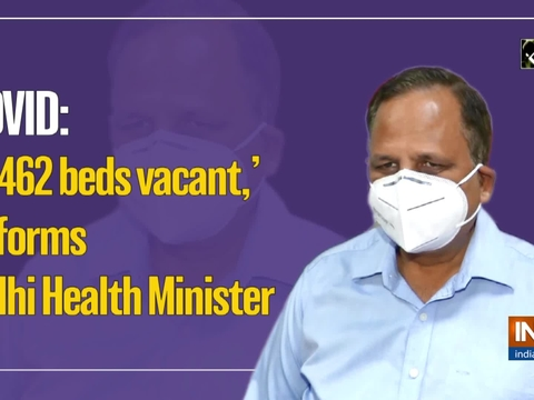 COVID: '2,462 beds vacant,' informs Delhi Health Minister