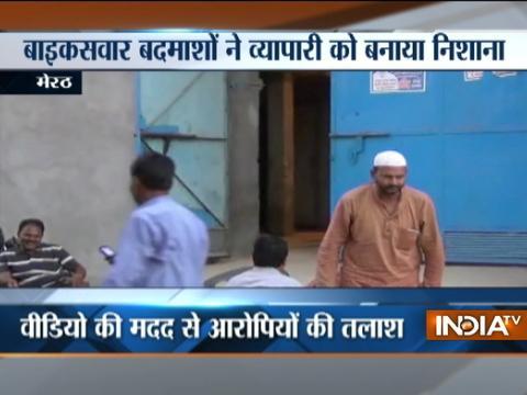 Miscreants open fire outside businessman's residence in Meerut