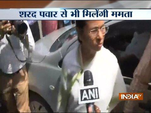 WB CM Mamata Banerjee meets Shiv Sena's Sanjay Raut, TDP's Y.S. Chowdary