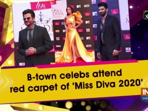 B-town celebs attend red carpet of 'Miss Diva 2020'