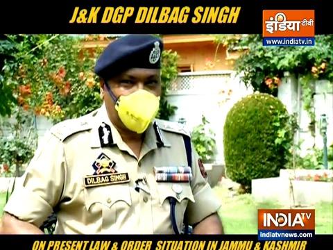 अनुच्छेद 370 के बाद कश्मीर में घटा है आतंक, डीजीपी ने कहा