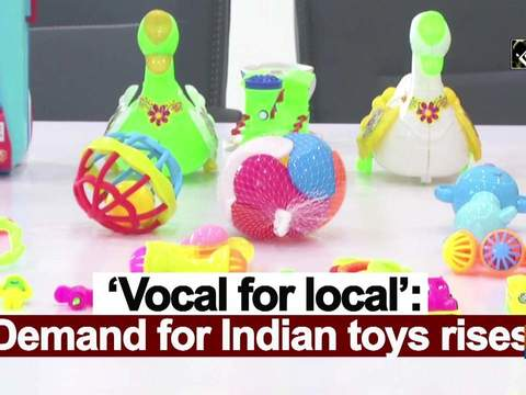 'Vocal for local': Demand for Indian toys rises