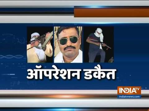 राजस्थान के धौलपुर में डकैत जगन गुर्जर को पकड़ने के लिए सर्च ऑपरेशन चलाया गया