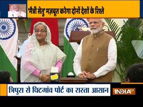 पीएम मोदी आज भारत, बांग्लादेश के बीच फेनी नदी पर 'मैत्री सेतु' का उद्घाटन करेंगे