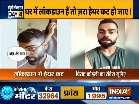 The nation needs our support: Virat Kohli urges people to stay inside during lockdown