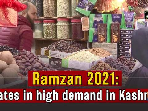 Ramzan 2021: Dates in high demand in Kashmir