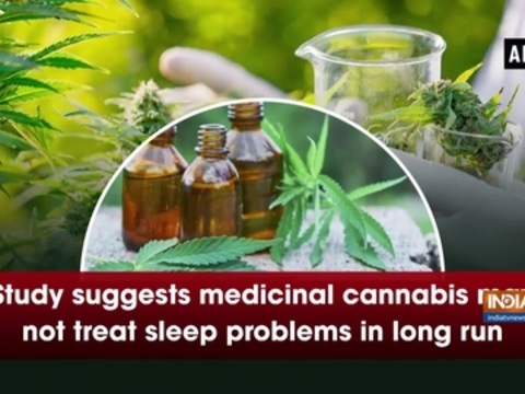 Study suggests medicinal cannabis may not treat sleep problems in long run